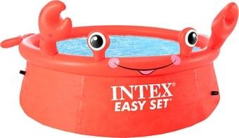 Надувной бассейн Intex Easy Set Веселый Краб 26100 (183х51)