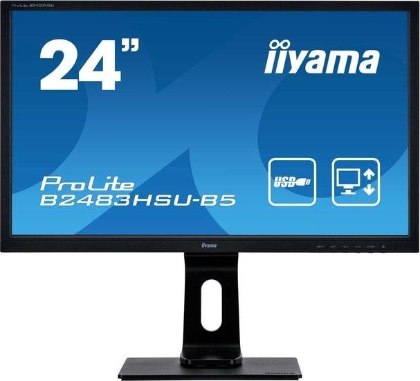 Монитор Iiyama ProLite B2483HSU-B5