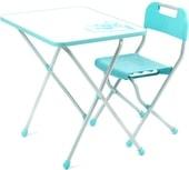 Складной стол Nika КПР/2 Ретро (бирюзовый)