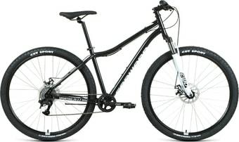 Велосипед Forward Sporting 29 2.2 disc р.17 2021 (черный/белый)