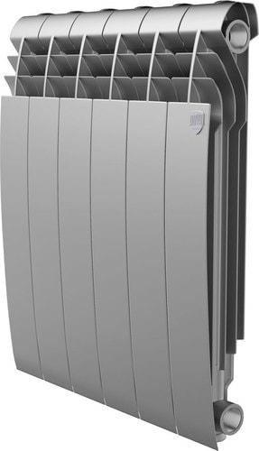 Алюминиевый радиатор Royal Thermo Biliner Alum 500 Silver Satin (8 секций)
