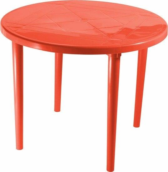 Стол Стандарт пластик 130-0022-33 (красный)