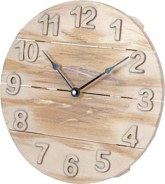 Настенные часы Platinet May PZMA (коричневый)