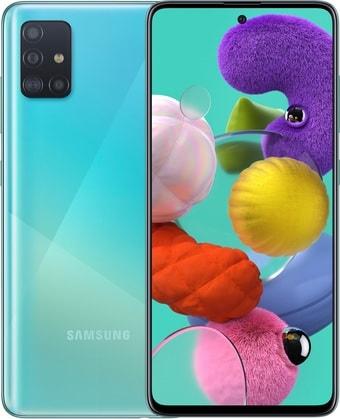 Смартфон Samsung Galaxy A51 SM-A515F/DSM 4GB/64GB (голубой)
