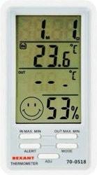 Термогигрометр Метеостанция Rexant RX-518