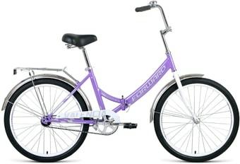 Велосипед Forward Valencia 24 1.0 2021 (фиолетовый)