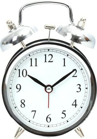 Настольные часы Platinet March PZMAS (хром)