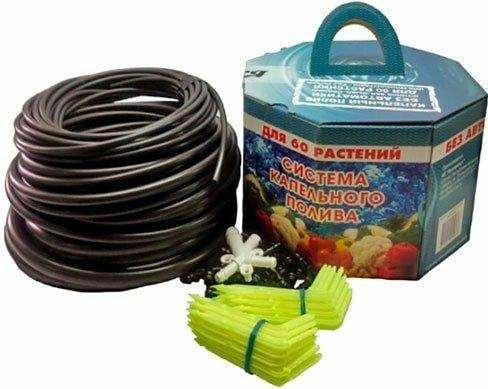 Система полива АкваДуся + 60 Система капельного полива от емкости на 60 растений