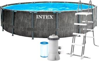 Каркасный бассейн Intex Greywood 26744 (549×122)
