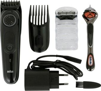 Триммер для бороды и усов Машинка для стрижки Braun BT3242