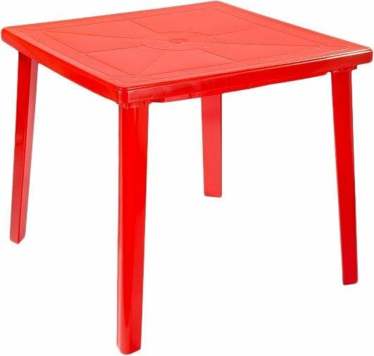 Стол Стандарт пластик 130-0019-33 (красный)