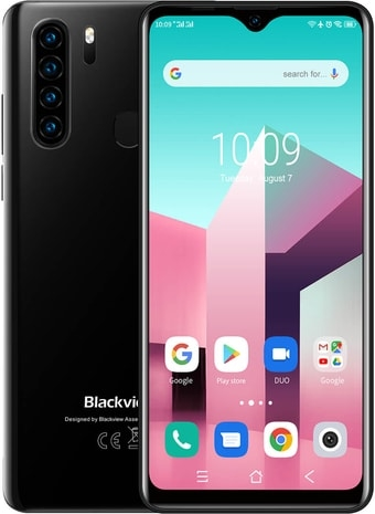 Смартфон Blackview A80 Plus (черный)
