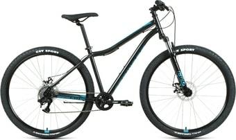 Велосипед Forward Sporting 29 2.2 disc р.19 2021 (черный/синий)