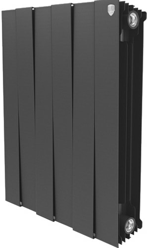 Биметаллический радиатор Royal Thermo PianoForte 500 Noir Sable (10 секций)