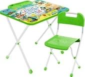 Детский стол Nika Микки Маус (зеленый)