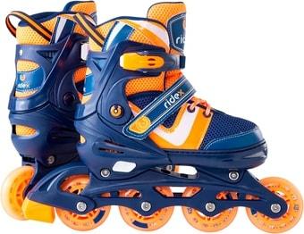 Роликовые коньки Ridex Wing (р. 30-33, оранжевый/синий)