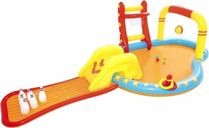 Надувной бассейн Bestway Маленькие чемпионы 53068 (435х213х117)