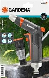 Распылитель Gardena Пистолет-наконечник для полива Premium + Коннектор 18306-20