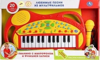 Интерактивная игрушка Умка Обучающее пианино со звуком B1454100-R