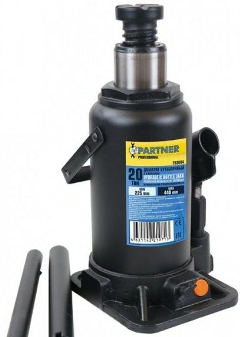Бутылочный домкрат Partner PA-T92004 20т