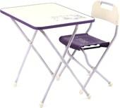 Складной стол Nika КПР/3 Ретро (сиреневый)