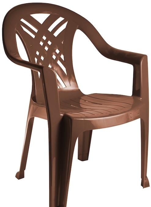 Стул Стандарт пластик Престиж 110-0034-61 (шоколадный)
