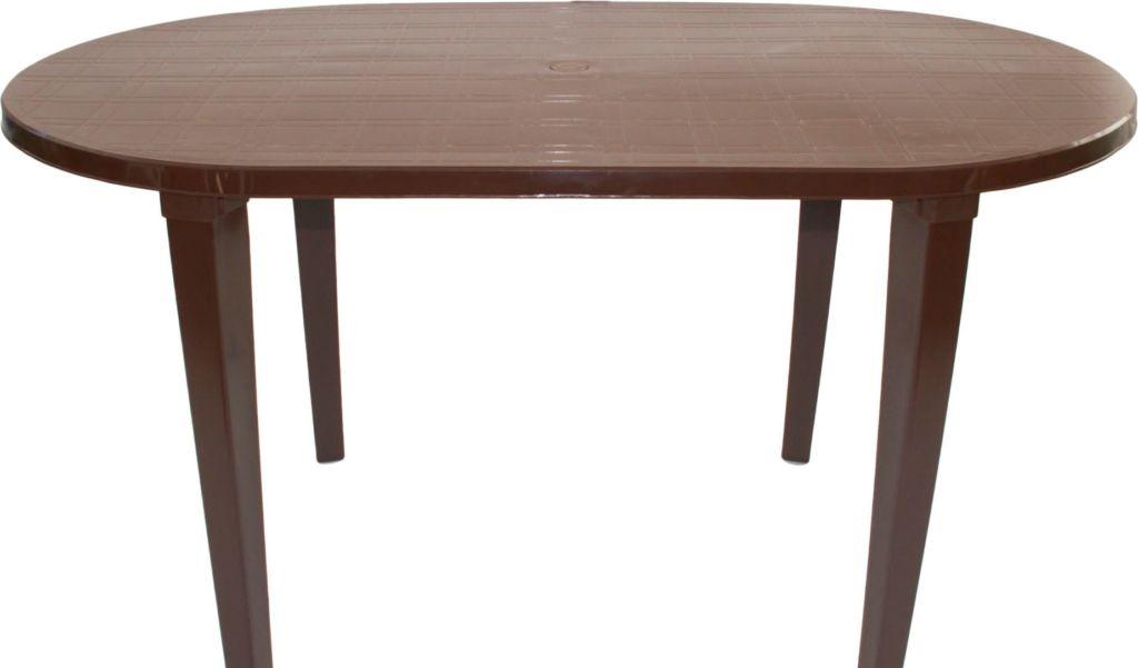 Стол Стандарт пластик 130-0021-61 (шоколадный)