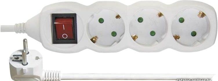Сетевой фильтр Emos P1323 (3 м, 3 розетки)