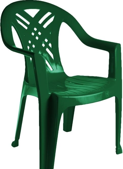 Стул Стандарт пластик Престиж 110-0034-24 (темно-зеленый)