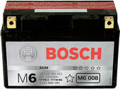 Мотоциклетный аккумулятор Bosch M6 YT7B-4/YT7B-BS 507 901 012 (7 А·ч)