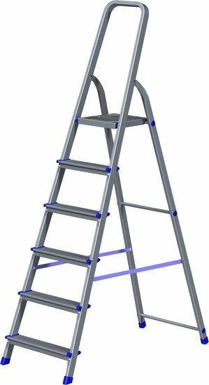 Лестница-стремянка Новая высота NV 111 алюминиевая 6 ступеней (1110106)