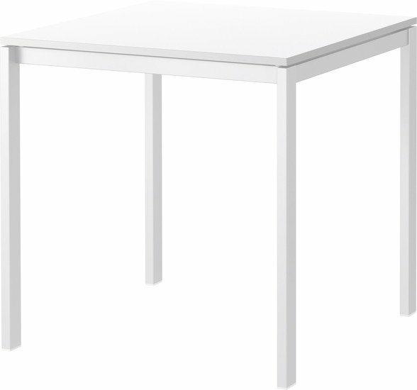 Обеденный стол Ikea Мельторп белый (390.117.81)