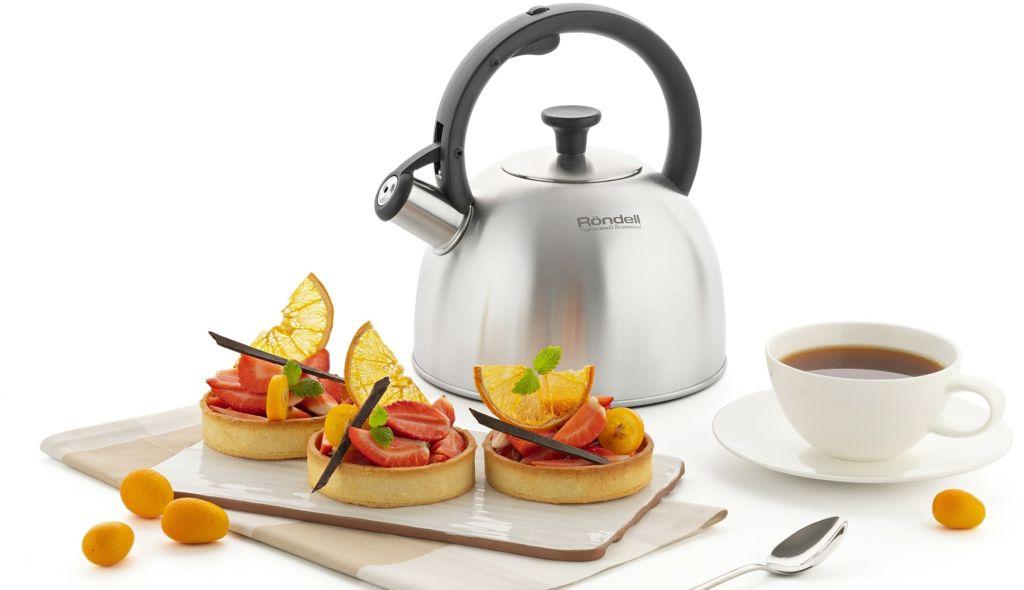 Чайник со свистком Rondell Massimo RDS-1297