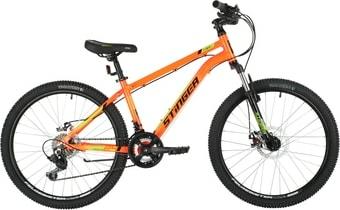Велосипед Stinger Element Evo 24 р.14 2021 (оранжевый)