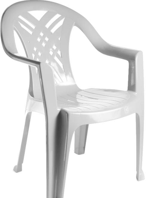 Стул Стандарт пластик Престиж 110-0034-01 (белый)