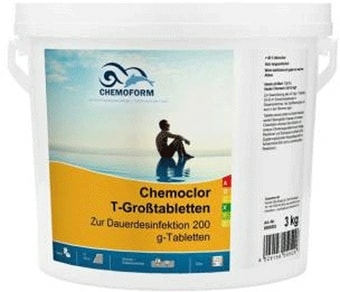 Chemoform Кемохлор T в таблетках по 200г 5кг