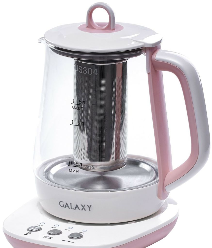 Электрочайник Galaxy GL0591 (розовый)