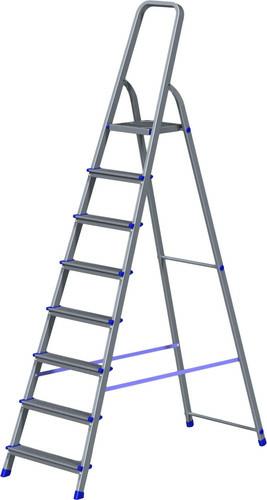 Лестница-стремянка Новая высота NV 111 алюминиевая 8 ступеней (1110108)