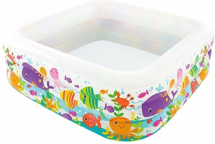 Надувной бассейн Intex Sea Aquarium 57471 (159х50)