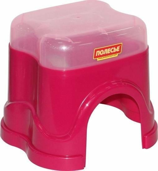 Детский стул Полесье №3 55774 (розовый)
