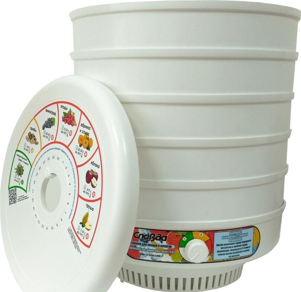 Сушилка для овощей и фруктов Славда DVN31-500/5