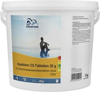 Chemoform Аквабланк О2 в таблетках по 20г 5кг