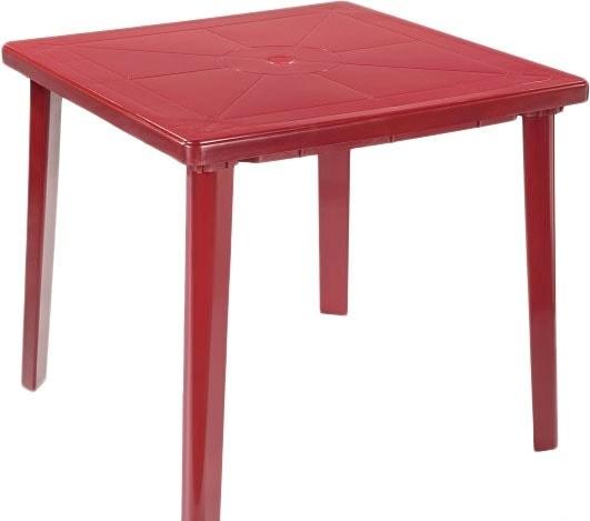Стол Стандарт пластик 130-0019-11 (вишневый)