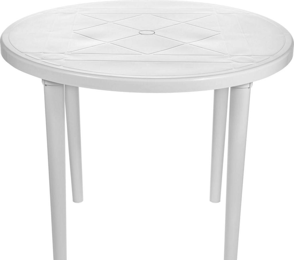 Стол Стандарт пластик 130-0022-01 (белый)