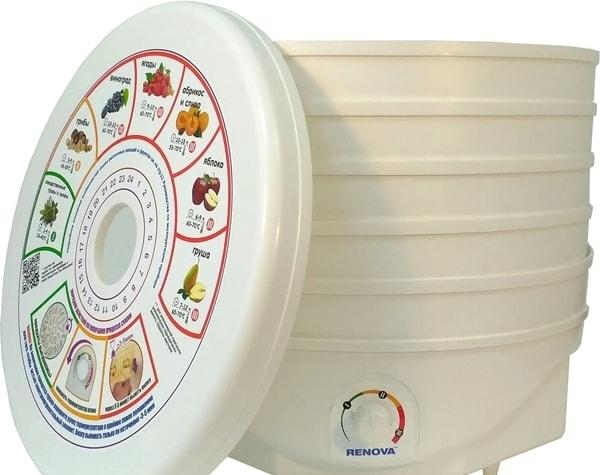 Сушилка для овощей и фруктов Renova DVN37-500/5