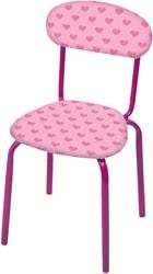 Детский стул Nika СТУ6 (сердечки на розовом)