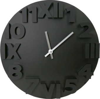 Настенные часы Platinet Modern PZMOBC (черный)