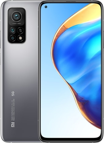 Смартфон Xiaomi Mi 10T Pro 8GB/256GB международная версия (серебристый)