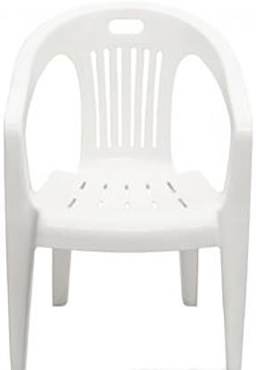 Стул Стандарт пластик Комфорт-1 110-0031 (белый)