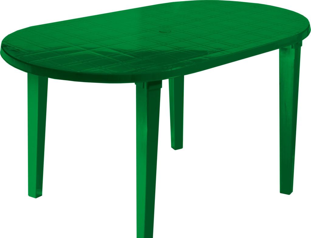 Стол Стандарт пластик 130-0021-24 (темно-зеленый)